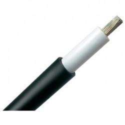 Solární kabel pr. 6 mm černý