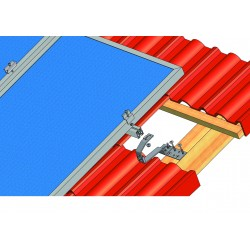 Konstrukce pro 18 fotovoltaických panelů 4,5kW