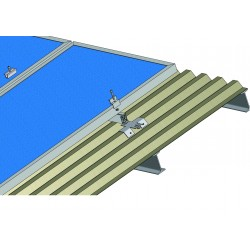 Konstrukce pro 8 solárních panelů 2kW