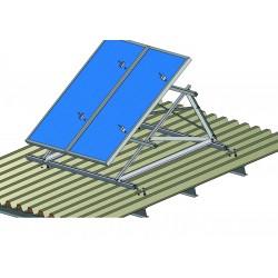 Set pro 8 fotovoltaických panelů 2kW