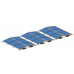 Konstrukce pro 14 fotovoltaických panelů 3,5kW