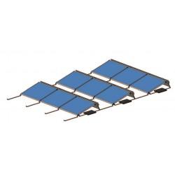 Set pro 18 solárních panelů 4,5kW