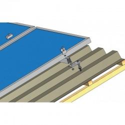 Konstrukce pro 8 fotovoltaických panelů 2kW