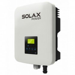 Solární měnič Solax X1 3.3-T TL3300, 2 MPPT
