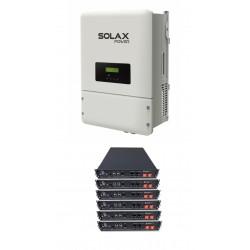 Set SOLAX X3 10KW + 7xPYLON 2,4 HV