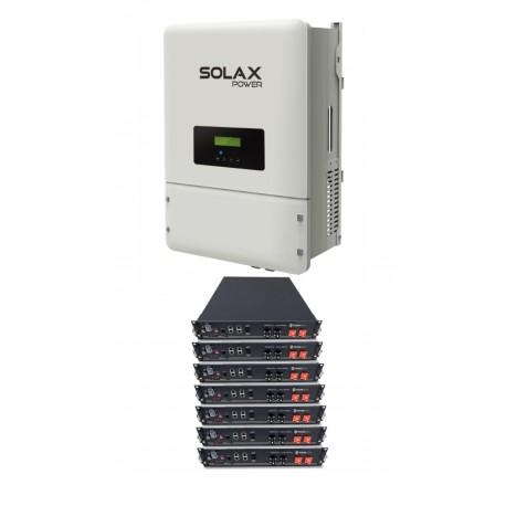 Set SOLAX X3 8KW + 5xPYLON 2,4 HV