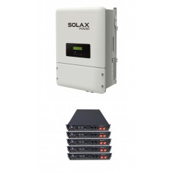 Set Solax SK-SU 5000 + Solax LG Battery 3.3kWh