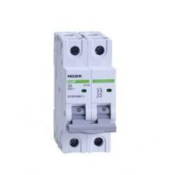 DC Vypínač, šířka 2 moduly, 2pól, 50A