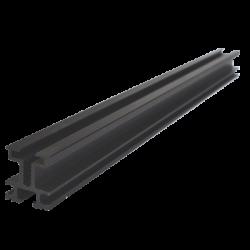 ClickFit Hliníkový profil délka 6000mm černý