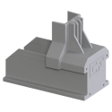 ClickFit Evo - Koncovka pro profil šedá