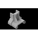 ClickFit Evo - koncovka šedá