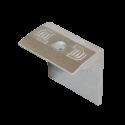 Krajový úchyt FlatFix pro panel tloušťky 38mm