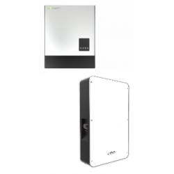 Set solární měnič Luxpower 3K Hybrid+battery Dyness 4.8