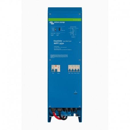 Hybridní solární jednotka EasySolar 1600VA/24V s AC jističi
