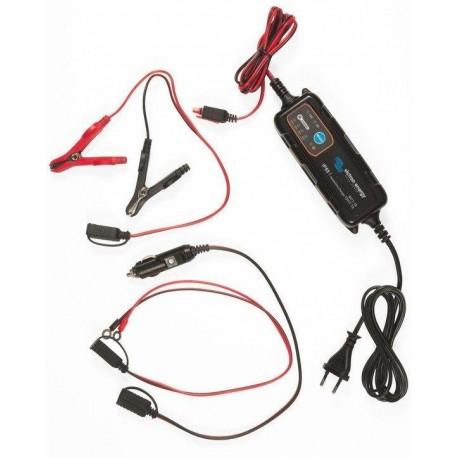 Nabíječka baterií automotive IP65 6V/12V-1,1A + DC konektor