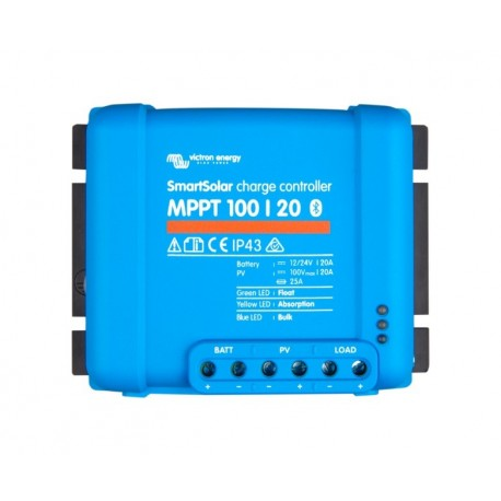 MPPT SMART solární regulátor 100/20