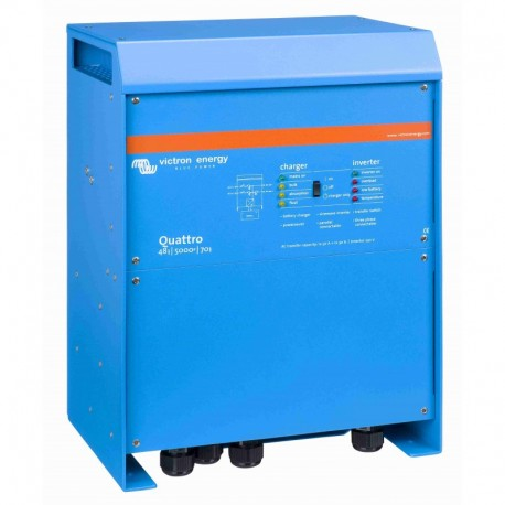 Měnič/nabíječ Quattro 48V/5000VA/70A-100A/100A
