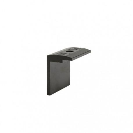 Koncový úchyt pro FlatFix 40mm černý