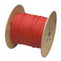 Solární kabel pr. 6 mm červený