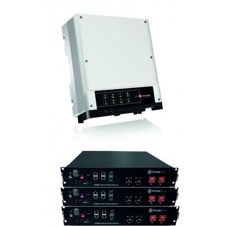 Set GoodWe GW3648D-ES + 3x PYLON 2.4 kW
