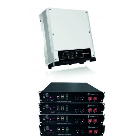 Set GoodWe GW5048D-ES + 4x PYLON 2.4 kW