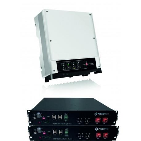 Set GoodWe GW3048 EM+ 2x PYLON 2.4 kW